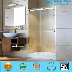 ステンレス製フレームのシャワーのドアの浴室のシャワーの衛生製品(BL-B0094-P)