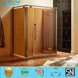 Amplio espacio ducha cuarto de baño de Gabinete de aparatos sanitarios (BL-B0049-U).