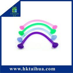 Yoga-Hilfsmittel-Silikon-Gummi-Wand-Riemenscheiben-bodybuildende elastische Übungs-Bänder für Dame
