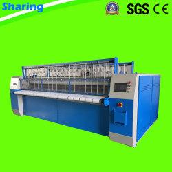 3000mm rouleau double Flatwork Ironer Machine Machine de Repassage Blanchisserie industrielle
