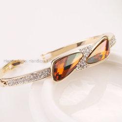 Venda por grosso de liga de moda Bangle encantador bracelete de Cristal