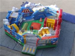 즐거운 놀이공원 아이들을 위한 도시 놀이터