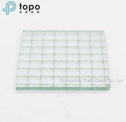 Vidro estampado / figurado para construir a casa de Vidro decoração (CP-TP)