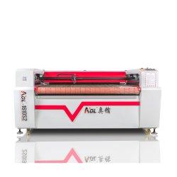 Tecido-1610 Aol Tapete Couro Têxteis máquina de corte a laser para venda
