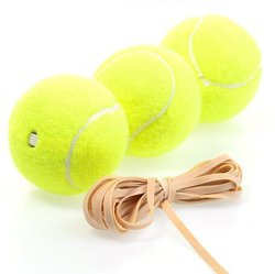 OEM Bal van het Tennis van het Koord van de Opleiding van de Sport de Enige Elastische met Gat