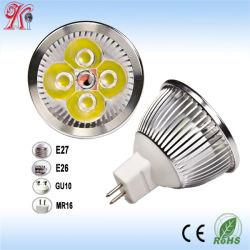 إضاءة LED بتقنية MR16 بقوة 4 واط عالية