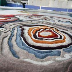 Нерегулярные цветочными орнаментами, ковров и ковровых покрытий двери гостиной коврики