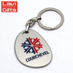 O design exclusivo de metal barato personalizado imprimindo Chaveiro Chaveiro Garrafa