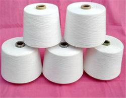 Los textiles de algodón tejido de poliéster de CVC 65/35 hilados y tejidos
