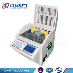 Система Bdv тестер диэлектрического трансформаторного масла/трансформаторное масло разбивка анализатор напряжения