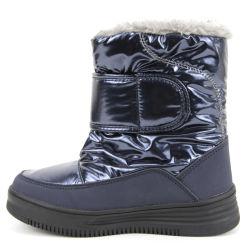 أفضل بيع الاطفال جميلة مقاومة المياه سهل التنظيف الاطفال حذاء الثلج الشتوية