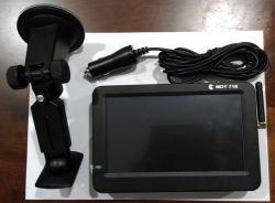 """7 """" GPS/3G Mobile Android avec deux terminaux de données RS232 et deux ports USB hôte"""