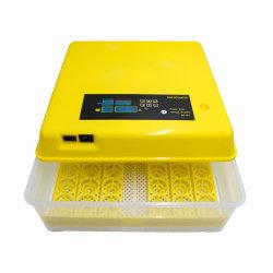 Com o dia de incubação de alta qualidade de gravação Nova Incubadora de Ovo de Codorniz Rolagem automática Hatcher