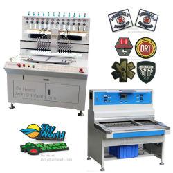 소프트 PVC 라벨/로고/배지/고무 패치 /상표 제조 기계/생산 라인