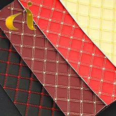 3D bordados PU sintéticos artificiais para sofá de couro de PVC/Banco do Carro/Porta/saco/capa/Wall /escura