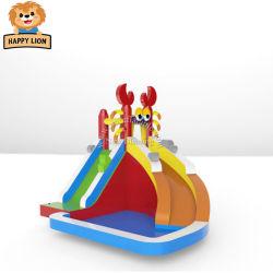 Happy Lion videurs gonflable bon marché pour la vente, à domicile Bouncer gonflables pour les bambins, Oxford chiffon, de domicile bouncer, Kids bouncer