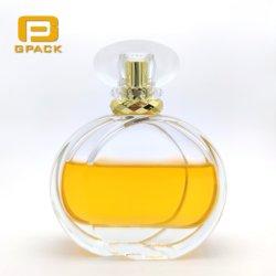 2020 de Nieuwe Fles van het Parfum van het Glas 100ml van de Cirkel van het Ontwerp Dubbele Duidelijke voor de Flessen van Dame Women Man Mens Large Parfum voor Verkoop