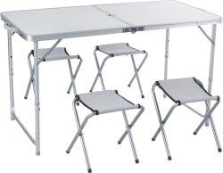 Camping Tisch Aluminium tragbarer faltbarer Camp Schreibtisch für Outdoor-Picknick Party BBQ