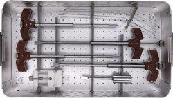 Jinlu Medizinische Orthopädische Instrument Lumbar Titan Käfig Instrumentenkoffer 506