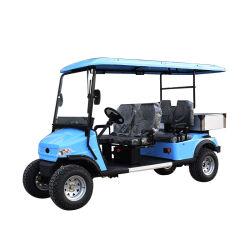 중국 제조자는 세륨 증명서로 2 4 6 8 Seater 배터리 전원을 사용하는 셔틀 여행자 호텔 실용적인 전기 골프 차를 공급한다