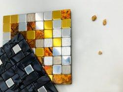 Einfache Installations-anhaftende Wand deckt ACP-Mosaik mit Ziegeln