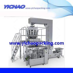 Große Multifunktionsmaschine Für Automatische Milch/Salz/Sucher/Mehl/Kaffee/Stärke/Cassava/Mais/Yam-Puderbeutel/Beutel/Beutel/Beutel/Dosen/Dosen-Futterverpackung/Verpackungsmaschine
