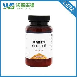 100% Natural el café verde en polvo para suplemento dietético