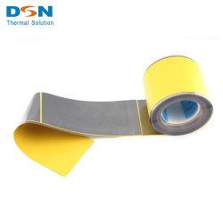 Grafito flexible Precio de la hoja de aluminio reforzado con lámina de metal