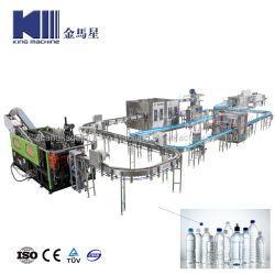 De volledige Automatische het Drinken van de Drank Vloeibare Zuivere Minerale het Vullen van de Was van de Fles van het Sodawater Blazende Spoelende Bottelende Gebottelde het Afdekken Verzegelende Machine van de Verpakking van de Etikettering