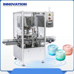 De volledige PLC het Vullen van de Chemische producten van de Controle Kosmetische en Dagelijkse Installatie van de Machine