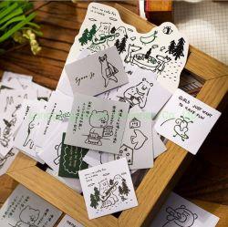 كتابة ورسم بطاقات لزجة ولاصق قابل للاستعمال تكرارا