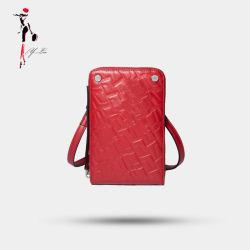 Настраиваемые женщина мини-сумка с молнией дамы телефон дамской сумочке