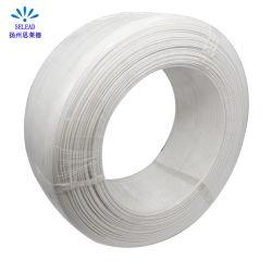 Qualität PET Plastik 3mm/4mm/5mm einzelner/Zweikernwekzeugspritzen-Draht-Brücken-Klipp