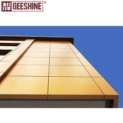 고품질 단색 PE 3/4mm 알루미늄 합성 패널 클래딩 외부 벽 장식 가격