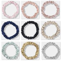El color puro poco cabello Scrunchies Combinación versátil y anillo de dulce muchacha de cabellos cabeza cuerda cuerda accesorios para el pelo