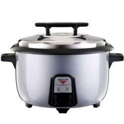 آلة طهو الأرز التجارية التقليدية سعة 5,6 لتر بقوة 2000 واط