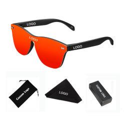 30% fuori dagli occhiali da sole su ordinazione adulti popolari 2020 di vetro di Sun di modo del campione libero con l'obiettivo polarizzato