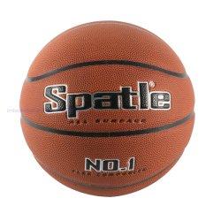 中国Microfiberの物質的な公式のサイズによって薄板にされるバスケットボール屋内OEM