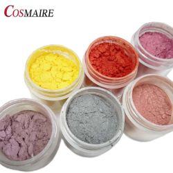 Pearl para cosméticos de pigmento en polvo de mica Multicolor pigmento Eyeshadow efecto