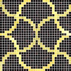 Elegant Glass Mosaic Tile (F011)
