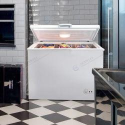 100L Commercial porte unique de petite taille mini frigo congélateur coffre de la poitrine profonde avec des pierres précieuses Les députés ont approuvé HD-100