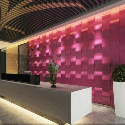 3D Binnenlandse Sticker van de Muur van het Behang van het Schuim van de Decoratie Pu van de Muur Zelfklevende