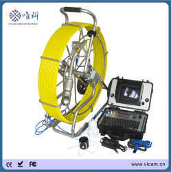 Tuyau d'égout étanches d'inspection de la caméra vidéo de rotation de 360 degrés