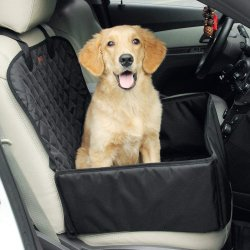 Portable 여행 Foldable 애완 동물 차 승압기 시트 개 캐리어 카 시트