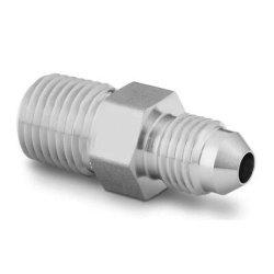 Raccord de tuyau en acier inoxydable 716-20 Adaptateur de filetage mâle JIC X 14 dans la fiche mâle NPT
