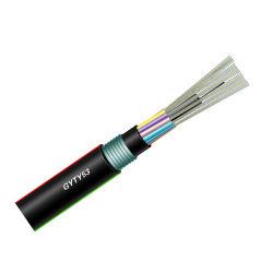 La fábrica de cable de fibra óptica Hanxin GYTY blindado53