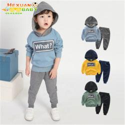 Los niños sudaderas con capucha El sudor se adapte a los niños en invierno caen de desgaste para los niños ropa bebé vestir ropa de niño de 2020 establece