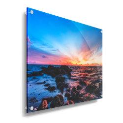 カスタム正方形のアクリルの額縁のハング壁の卸し売り写真フレーム