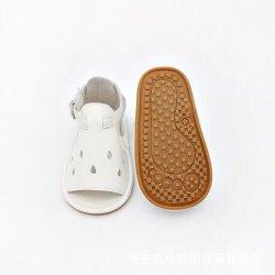 高品質の子供の幼児偶然の革サンダルの赤ん坊靴Prewalker (QC20929-11)