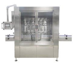 手のSanitizerの液体石鹸ボディローションのシャンプーのびんのためのアルコール医学の洗浄力がある殺菌剤のインライン液体の充填機